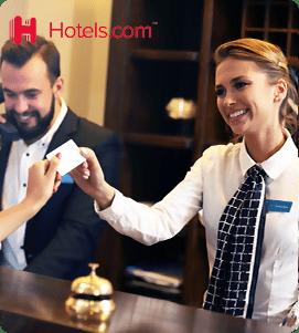 8% הנחה ב-hotels.com